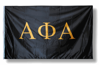 Alpha Phi Alpha Fraternity Huge Flag