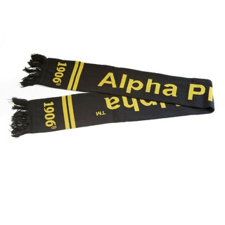 Alpha Phi Alpha Fraternity Knit Scarf