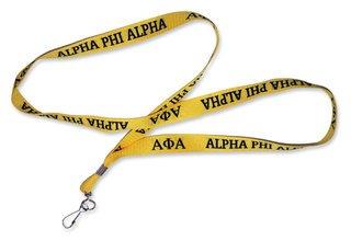 Alpha Phi Alpha Fraternity Lanyard