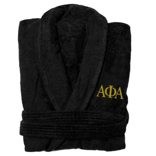 Alpha Phi Alpha Fraternity Lettered Bathrobe