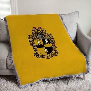 Alpha Phi Alpha Full Color Crest Afghan Blanket Throw