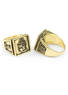 Alpha Phi Alpha Gold Plated Big Ring