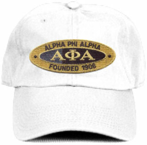 DISCOUNT-Alpha Phi Alpha Hat - Oval
