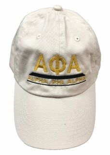 DISCOUNT-Alpha Phi Alpha Hat - Pyramid Design