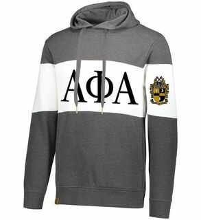 Alpha Phi Alpha Ivy League Hoodie W Crest On Left Sleeve