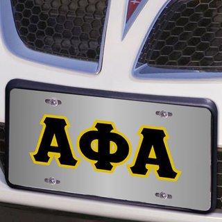 Alpha Phi Alpha Lettered License Cover