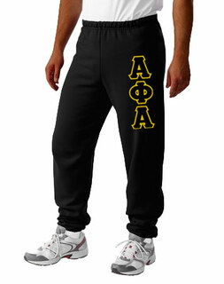 Alpha Phi Alpha Lettered Sweatpants