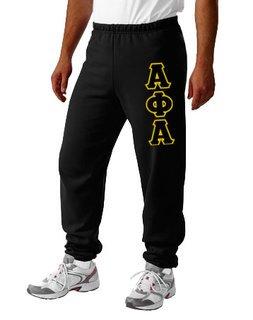Alpha Phi Alpha Lettered Sweatpants