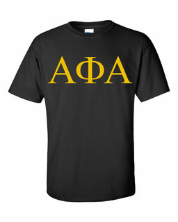 Alpha Phi Alpha Lettered Tee - $12.95! - MADE FAST!