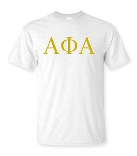 Alpha Phi Alpha Lettered Tee - $9.95!