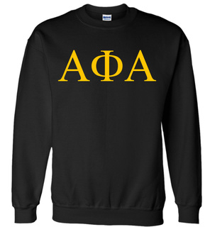 Alpha Phi Alpha Lettered World Famous $19.95 Greek Crewneck