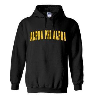 Alpha Phi Alpha Letterman  Hooded Sweatshirts