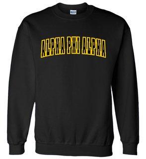 Alpha Phi Alpha Letterman Twill Crew