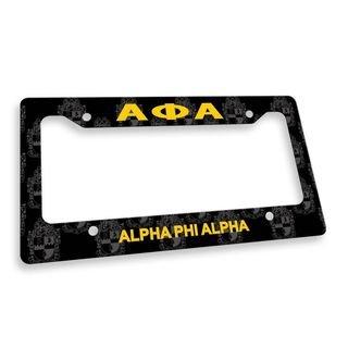 Alpha Phi Alpha Custom License Plate Frame