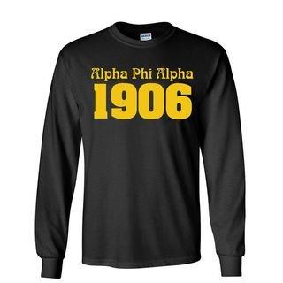 Alpha Phi Alpha Logo Long Sleeve Tee