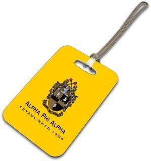 Alpha Phi Alpha Luggage Tag
