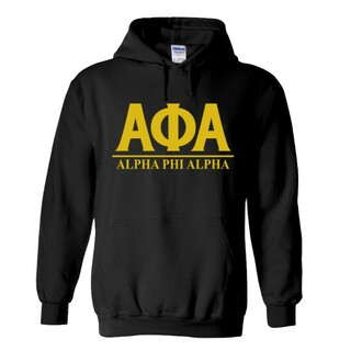 Alpha Phi Alpha Message  Hooded Sweatshirts