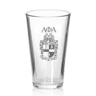 Alpha Phi Alpha Mixing Glass