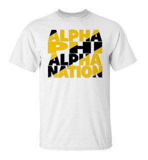 Alpha Phi Alpha Nation T-Shirt