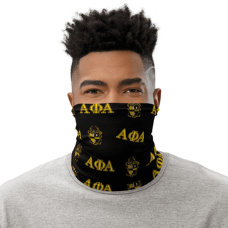 Alpha Phi Alpha Neck Gaiters - Black & Gold