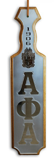 Alpha Phi Alpha Paddles Mirrored
