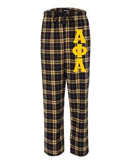Alpha Phi Alpha Pajamas Flannel Pant