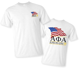 Alpha Phi Alpha Patriot Limited Edition Tee- $15!