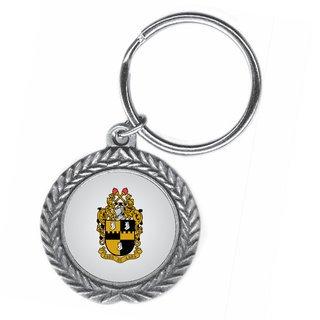 Alpha Phi Alpha Pewter Key Ring