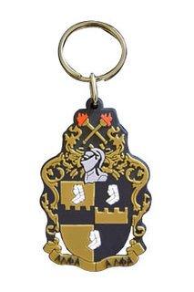 Alpha Phi Alpha Rubber Crest Key Chain