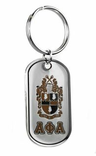 Alpha Phi Alpha Reversible Key Chains
