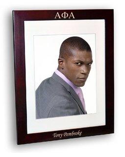 Alpha Phi Alpha Rosewood Picture Frame
