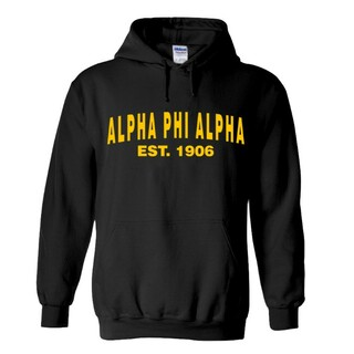 Alpha Phi Alpha Since  Hooded Sweatshirts