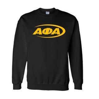 Alpha Phi Alpha Swoosh  Crewneck Sweatshirts