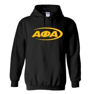 Alpha Phi Alpha Swoosh  Hooded Sweatshirts