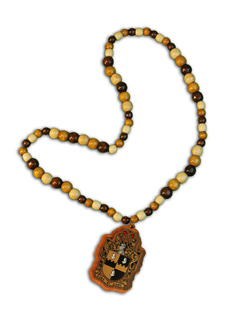 Alpha Phi Alpha Tiki Necklace