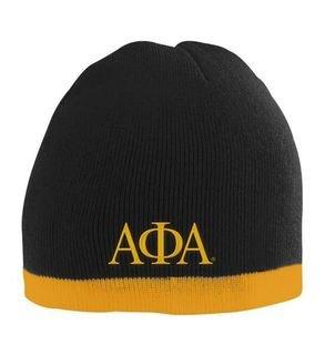 Alpha Phi Alpha Two Tone Knit Beanie