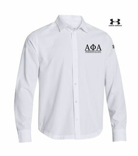 Alpha Phi Alpha Under Armour�  Men's Ultimate Fraternity Long Sleeve Buttondown