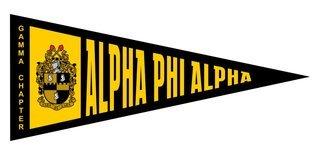 Alpha Phi Alpha Wall Pennants