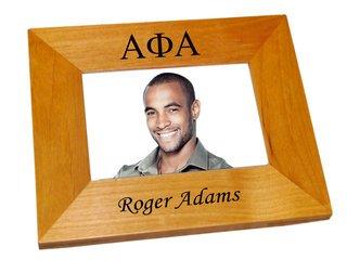 Alpha Phi Alpha Wood Picture Frame