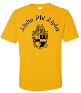 Alpha Phi Alpha World Famous Crest - Shield Tee