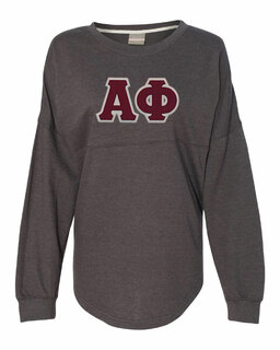 DISCOUNT-Alpha Phi Athena French Terry Dolman Sleeve Sweatshirt