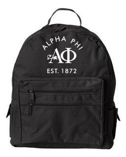 DISCOUNT-Alpha Phi Mascot Backpack