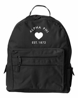 DISCOUNT-Alpha Phi Mascot Backpack