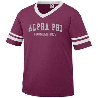 Alpha Phi Boyfriend Style Founders Jersey