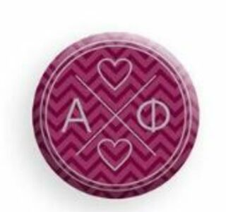 Alpha Phi Infinity Button