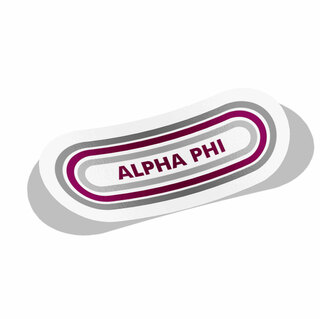 Alpha Phi Capsule Decal Sticker
