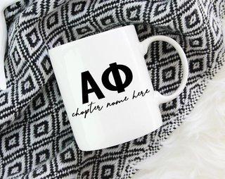 Alpha Phi Chapter Mug