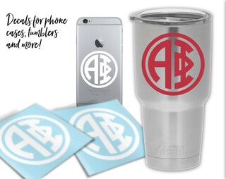 Alpha Phi Circle Decal
