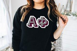 Alpha Phi City Greek Sweatshirt