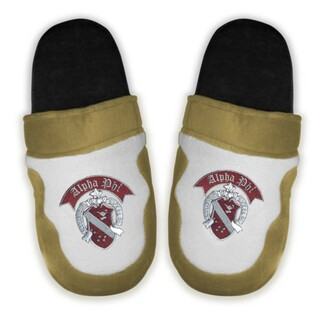 DISCOUNT-Alpha Phi Crest - Shield Slippers
